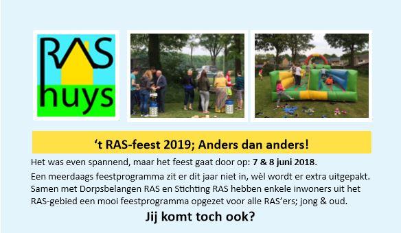 RAS-feest 2019